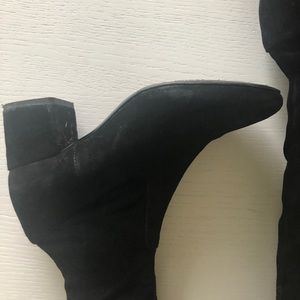 Maje Shoes - Maje over knee suede boots